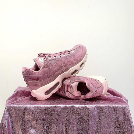 Nike Air Max 95 WMNS Pink Suede DD5398 615 1
