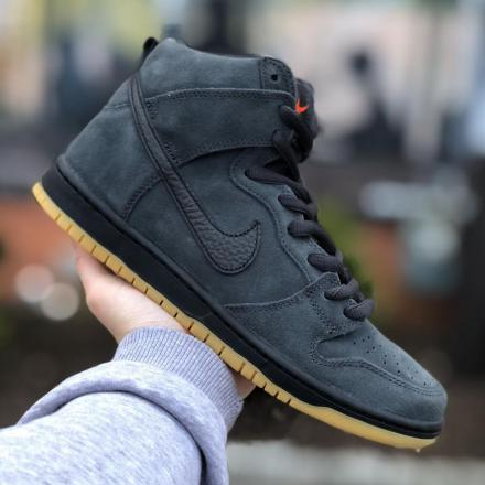 NIKE SB DUNK HIGH PRO ISO ANTHRACITE PACK 1
