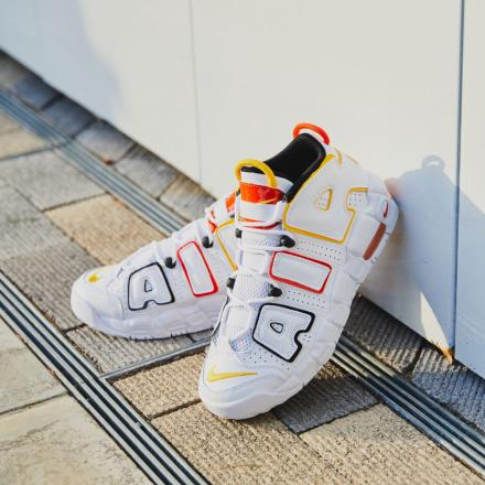 NIKE AIR MORE UPTEMPO GS ROSWELL RAYGUNS DD9282 100