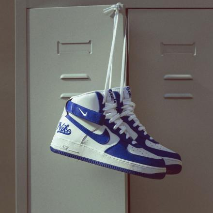 NIKE AIR FORCE 1 HIGH 07 LV8 EMB DC8168 100 1