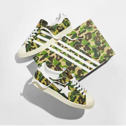 A BATHING APE ADIDAS ORIGINALS SUPER STAR 80S ABC CAMO GZ8981 2