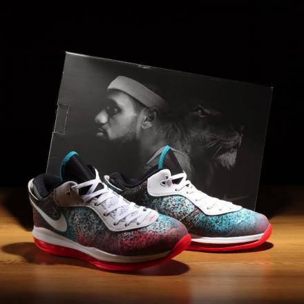 Nike LeBron 8 V2 Low Miami Nights DJ4436 100 01