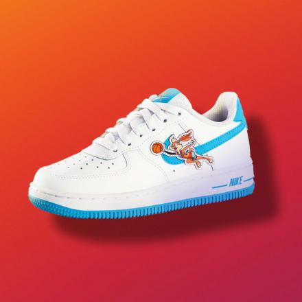 SPACE PLAYERS NIKE AIR FORCE 1 TUNE SQUAD DJ7998 100