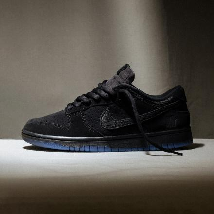 Undefeated Nike Dunk Low Black DO9329 001 1
