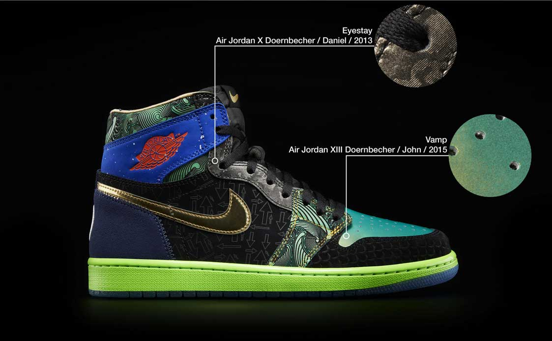 Nike Doernbecher Freestyle What The AJ1 34995 101465