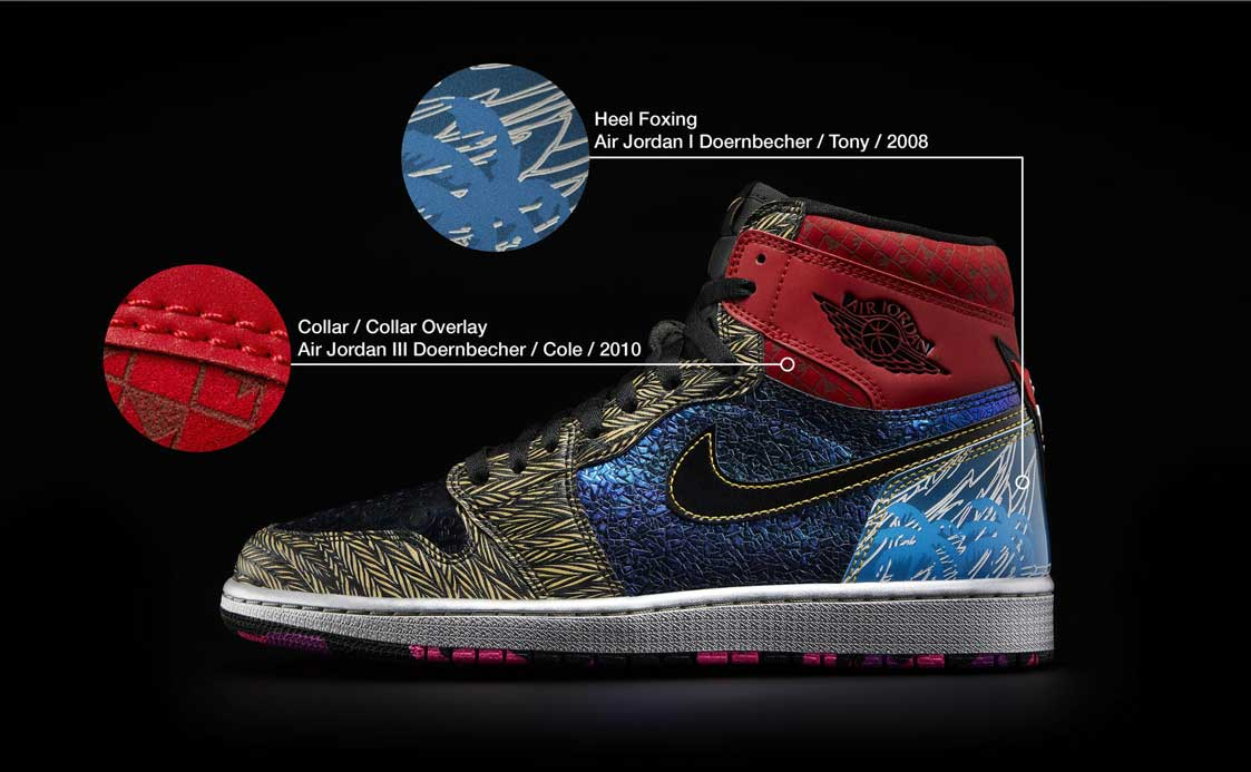 Nike Doernbecher Freestyle What The AJ1 35006 re2 101463