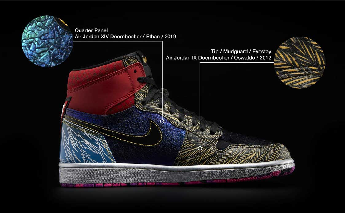 Nike Doernbecher Freestyle What The AJ1 35011 re2 101464