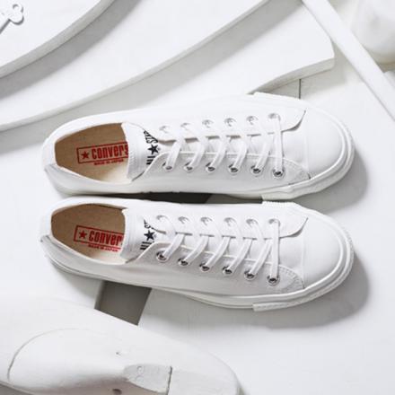 【国内7月15日/16日発売予定】コンバース キャンバス オール スター J OX ホワイト/ホワイト