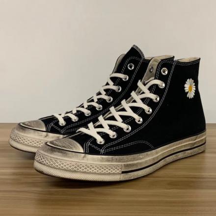 【リーク】ピースマイナスワン × コンバース チャック 70 ブラック/ホワイト