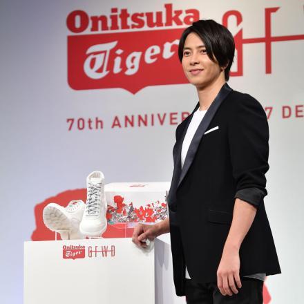 【国内12月26日発売予定】山下智久 × オニツカタイガー リンカン ブーツ ホワイト