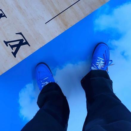 【リーク】オフホワイト × ナイキ エアフォース1 ロー ユニバーシティ ブルー