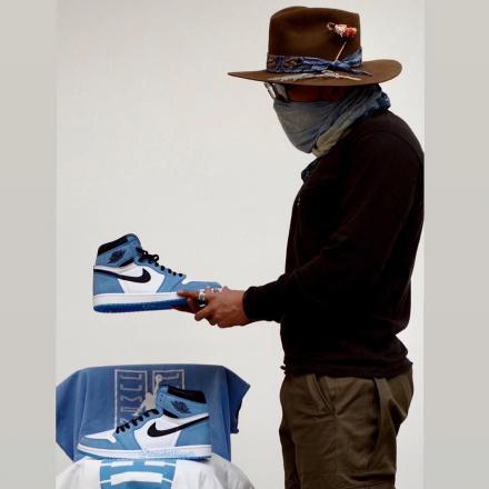 NIKE Air Jordan 1 University Blue 555088 134 3
