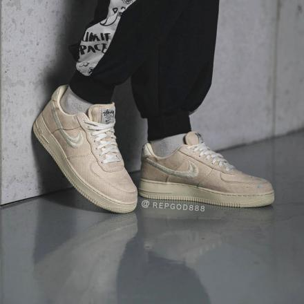 STUSSY NIKE AIR FORCE 1 CZ9084 200 2