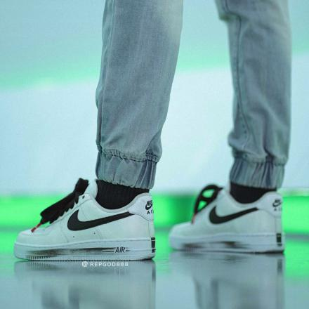 PEACEMINUSONE Nike Air Force 1 Para noise White Black 2020 DD3223 100 08