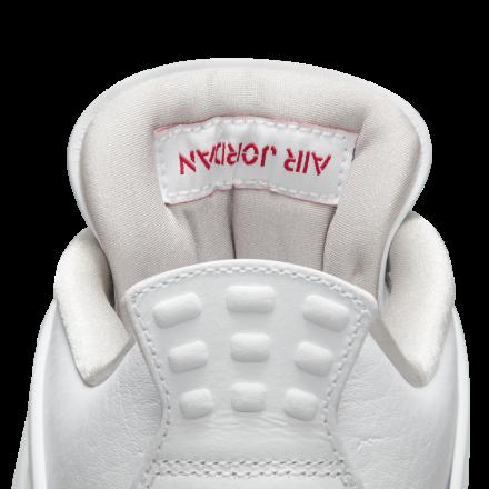 nike Air Jordan 4 White Tech Grey Black Fire Red CT8527 100 6