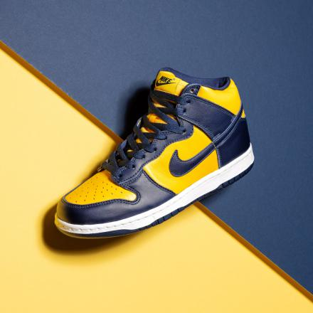 NIKE DUNK HIGH SP MICHIGAN CZ8149 700 111