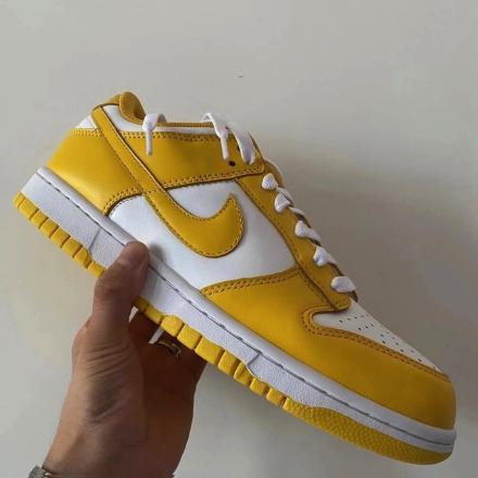 Nike Dunk Low Yellow White Release Date