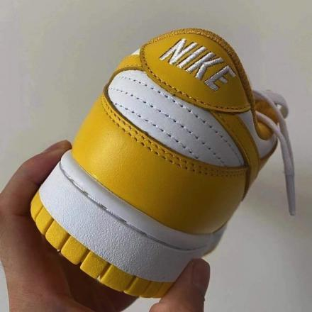 Nike Dunk Low Yellow White Release Date2