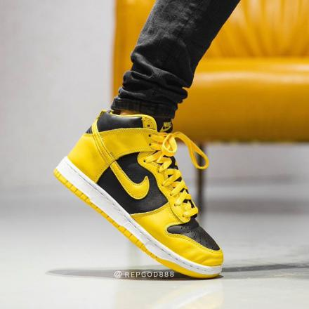 Nike Dunk High Varsity Maize CZ8149 002 6
