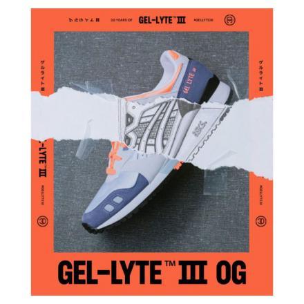 【国内9月25日発売予定】アシックス ゲル ライト 3 OG ホワイト/オレンジ(1191A266-102)