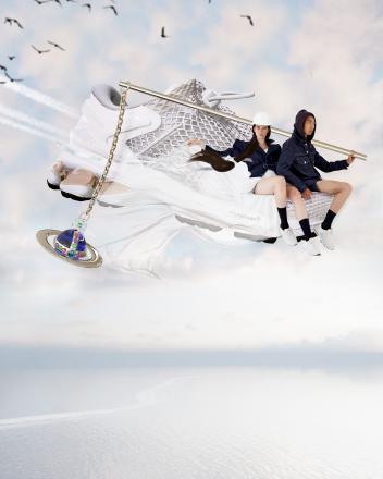 【国内9月28日/10月2日発売予定】ヴィヴィアン ウエストウッド × アシックス ゲル カヤノ 26 全2色