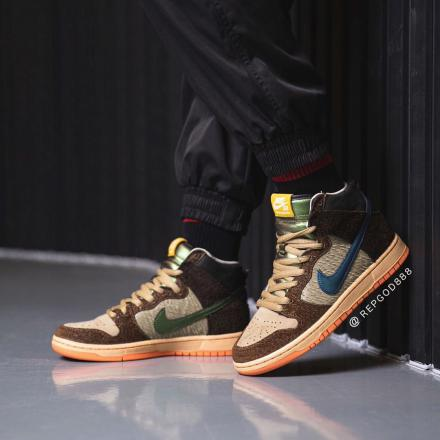Concepts Nike SB Dunk High Duck On Feet 2
