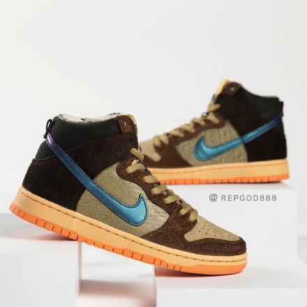 Concepts Nike SB Dunk High Duck On Feet 6