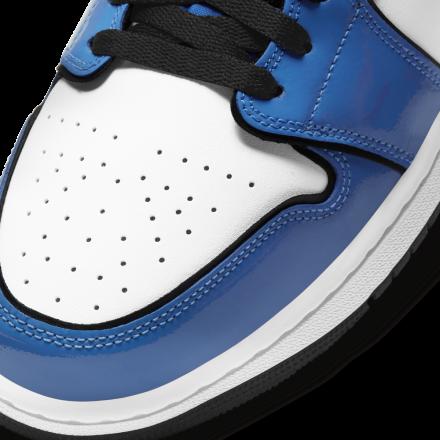 【国内1月15日発売予定】ナイキ エアジョーダン 1 ミッド シグナル ブルー/ホワイト-ブラック(DD6834-402)