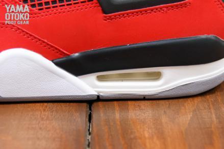 【国内7月6日発売予定】 ナイキ エアジョーダン4 レトロ ファイヤー レッド/ホワイト-ブラック-セメント グレー(308497-603)