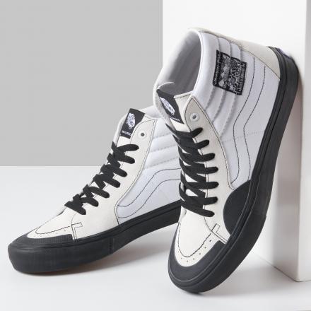 【国内12月10日発売予定】ジャクソン・ピルツ × バンズ スケート ハイ プロ ホワイト/ブラック