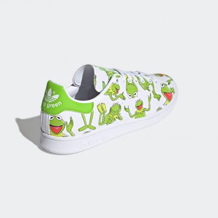 KERMIT THE FROG ADIDAS ORIGINALS STAN SMITH FZ2707 standard back lateral top view