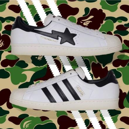 BAPE ADIDAS ORIGINALS SUPERSTAR 80S 1
