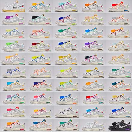 off white nike dunk the 20
