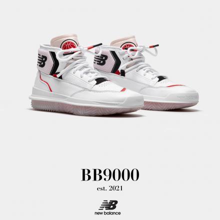 【国内4月1日発売予定】ニューバランス BB9000 A1 ホワイト/レッド(BB9000A1)