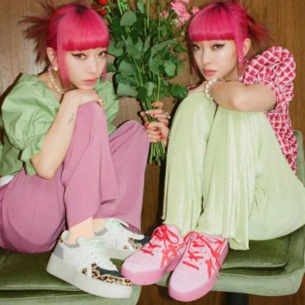 【国内5月14日発売予定】ジュエティ × アトモス ピンク × アシックス ジャパン S PF 全2色