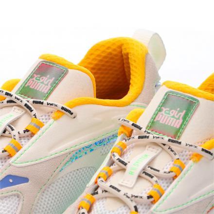 【国内先行予約受付中/5月28日発売予定】エックスガール × プーマ RS-ファスト プーマ ホワイト/ウィスパー ホワイト-エッグノグ(382849-01)