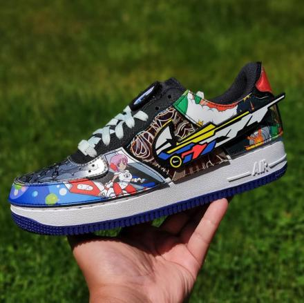 NIKE AF 1 BY 1 LOW NIKE AND THE MIGHTY SWOOSHERS 3