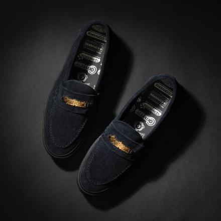 トーヤ・ ホリウチ × コンバース スケートボーディングCS ローファー SK + ブラック