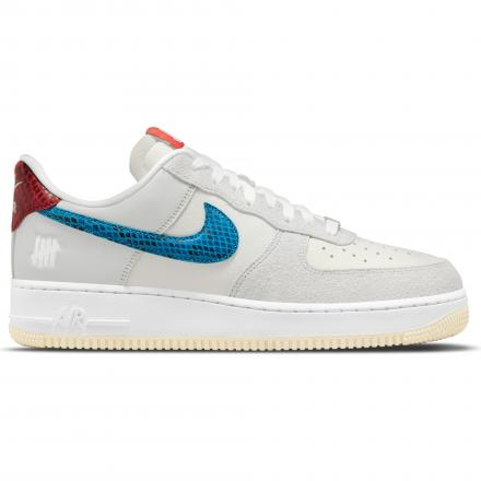 undefeated nike air force 1 low grey blue red DM8461 001 2