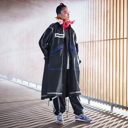 【国内10月7日/9日発売予定】クロット × サカイ × ナイキ LDワッフル ニュートラル グレー/オブシディアン-クール グレー(DH3114-001)