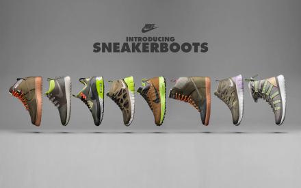 【10月発売予定】 ナイキ スニーカーブーツ 2013年 コレクション 全7種類