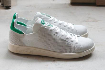 ADIDAS STAN SMITH PRIMEKNIT WHITE GREEN