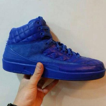 NIKE AIR JORDAN 2 RETRO QUILTED LEATHER