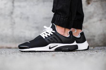 NIKE AIR PRESTO BR QS BLACK BLACK WHITE 7
