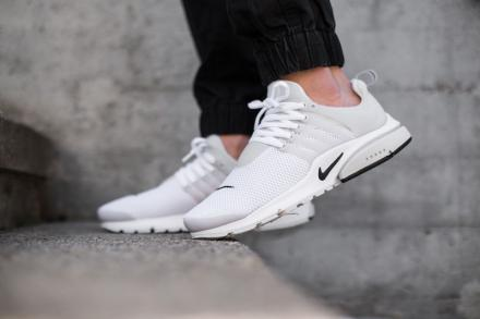NIKE AIR PRESTO BR QS WHITE BLACK WHITE 6