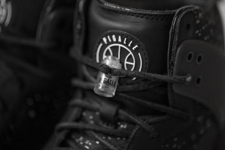 【国内6月27日発売予定】 ピガール × ナイキラボ ダンク ラックス ハイ SP ブラック/ブラック(806948-001)