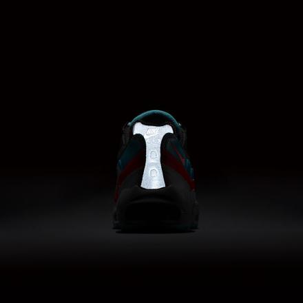 【国内7月発売予定】 ナイキ エアマックス95 エッセンシャル ブラック/ウルフ グレー/レディアント エメラルド(749766-002)