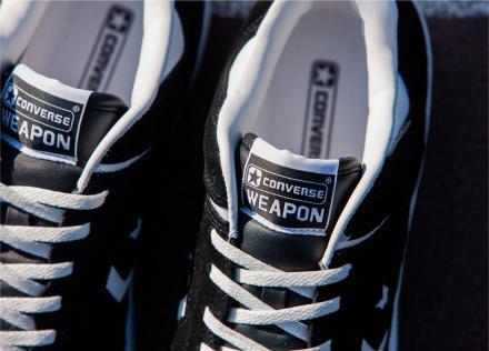 【国内2月26日発売予定】 コンバース ウエポン OX ブラック ビリーズ エンター 限定モデル