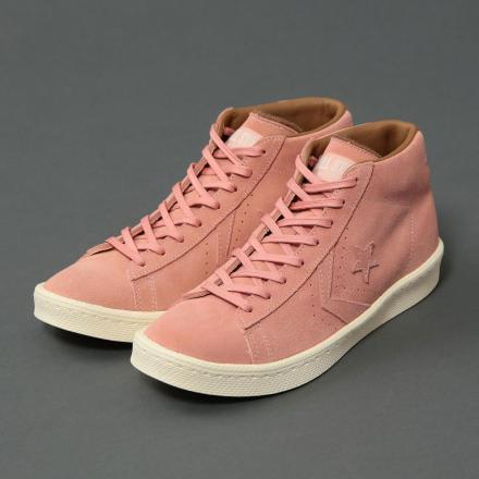 【国内6月17日先行予約】 ユナイテッドアローズ アンド サンズ × コンバース プロレザー ピンク