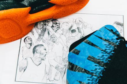 """ナイキ エアジョーダン31 """"ラッセル・ウェストブルック"""" ブラック/トータル オレンジ-ブルー ヒーロー(AA9794-023)"""